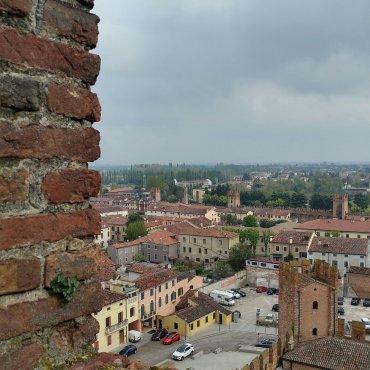 Vista dal Mastio Ezzelino